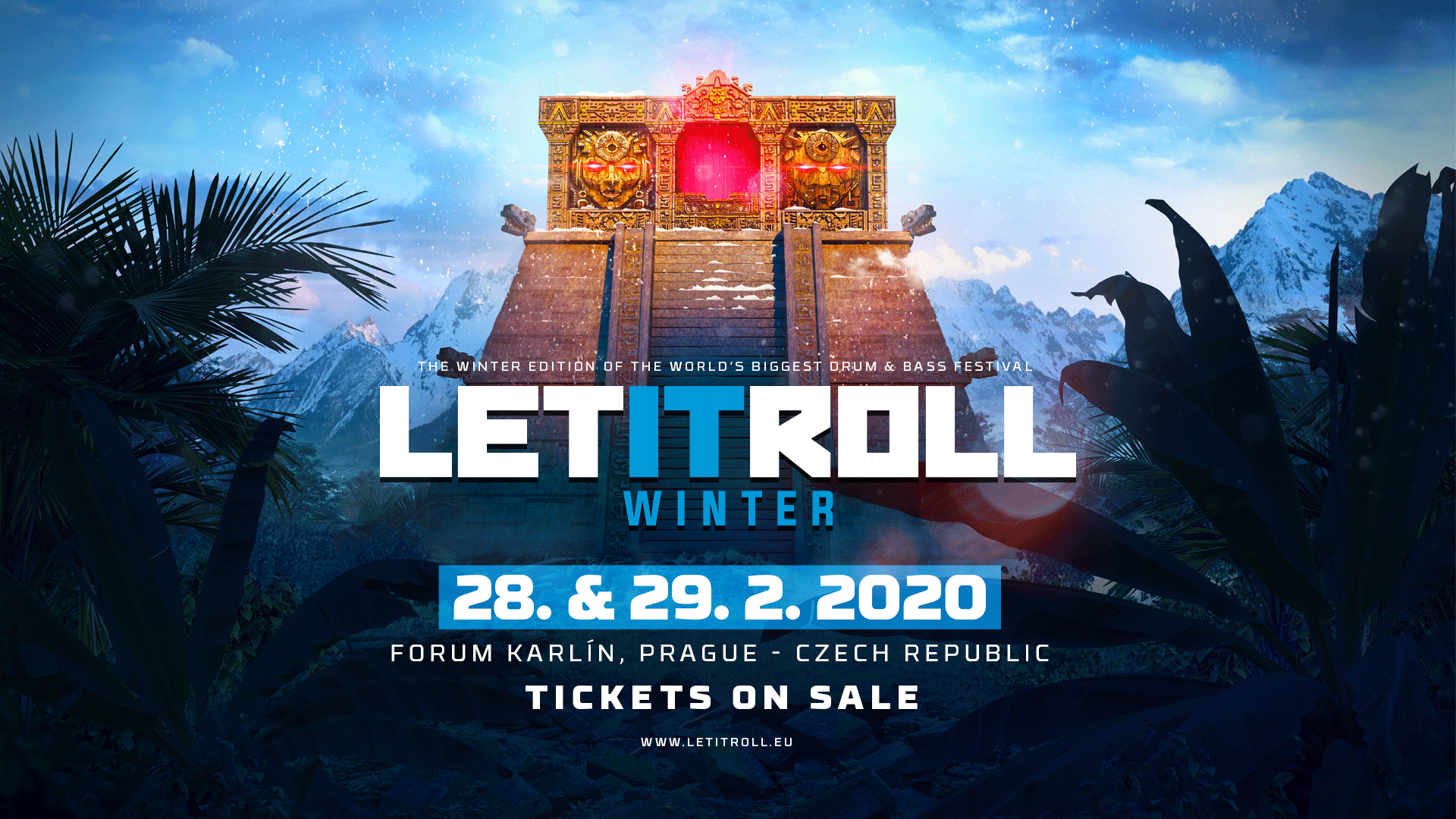 Winter Festival 2020.Let It Roll Winter 2020 Moves To The Best Venue In Prague